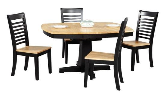 Winners Only Santa Fe   EbonyPiece Dining Table And Chair Set