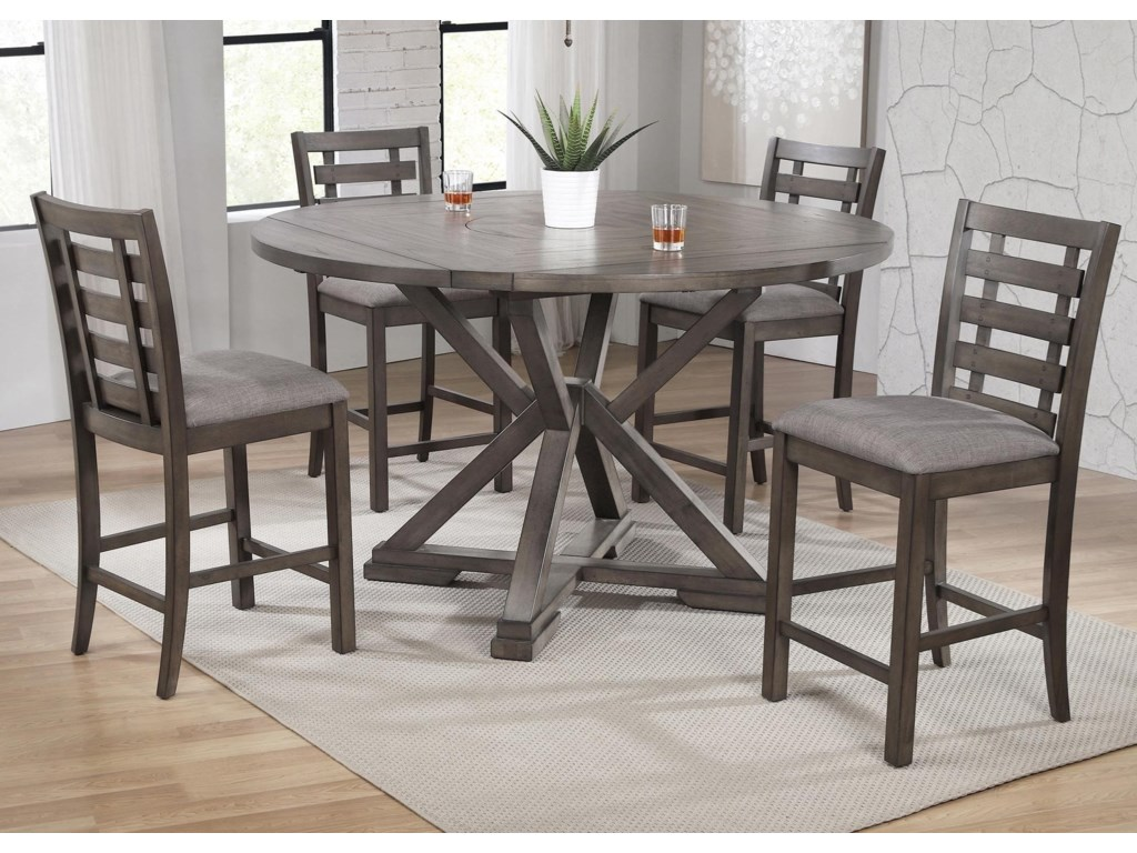 Winners Only Stratford5-Piece Counter Height Dining Table Set