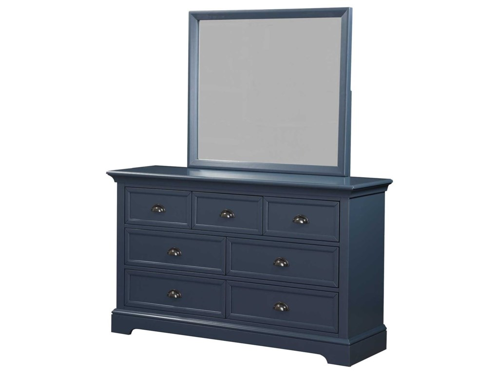 Winners Only Tamarack7-Drawer Dresser