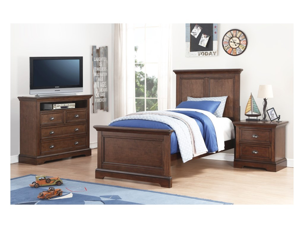 Winners Only TamarackTwin Panel Bed