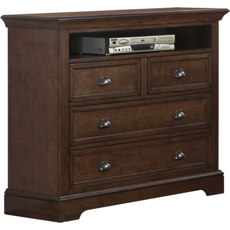 4-Drawer Tv Chest