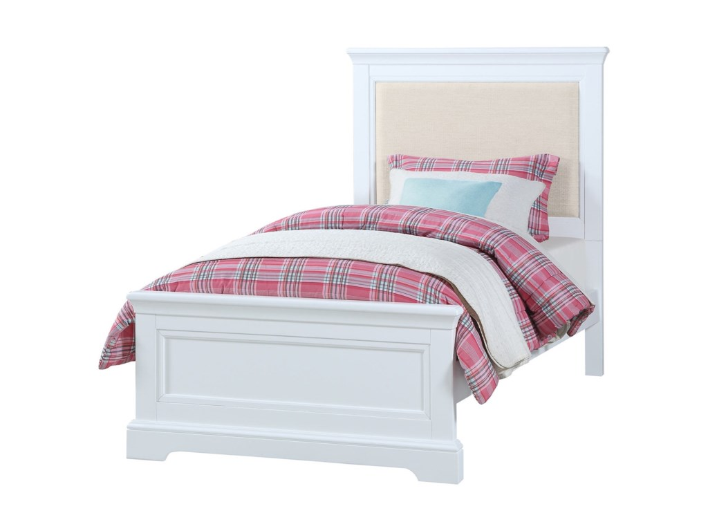 Winners Only TamarackTwin Upholstered Bed