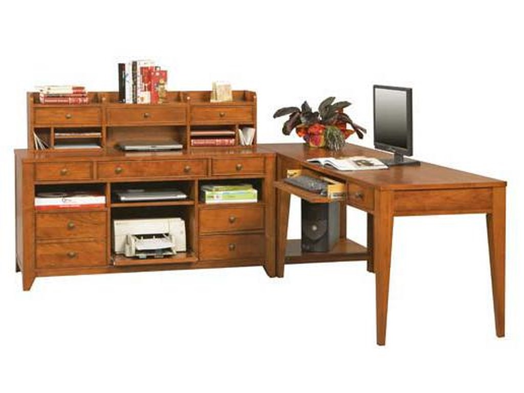 Topaz 4 Pc Modular L Shaped Desk By Winners Only