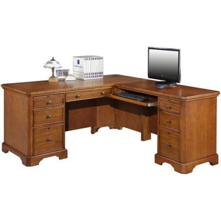 L Shaped Desk and Return