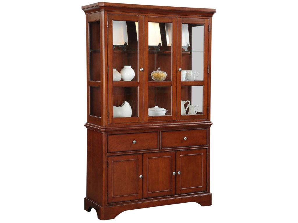 Topaz Buffet And Hutch By Winners Only