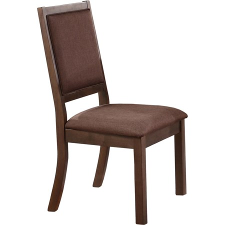 Cushioned Back and Seat Side Chair