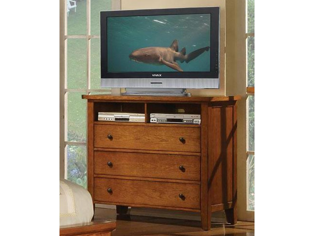 Winners Only Classic Cognac3-Drawer TV Stand