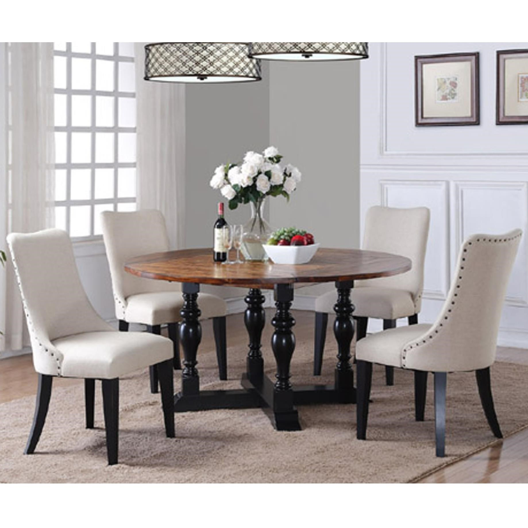 Weston 5 Piece Dining Set With Drop Leaf Table By Winners Only