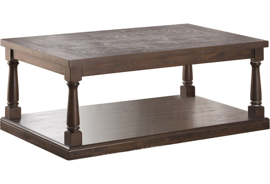 Winners Only Xcalibur Ax200cx Transitional Coffee Table With