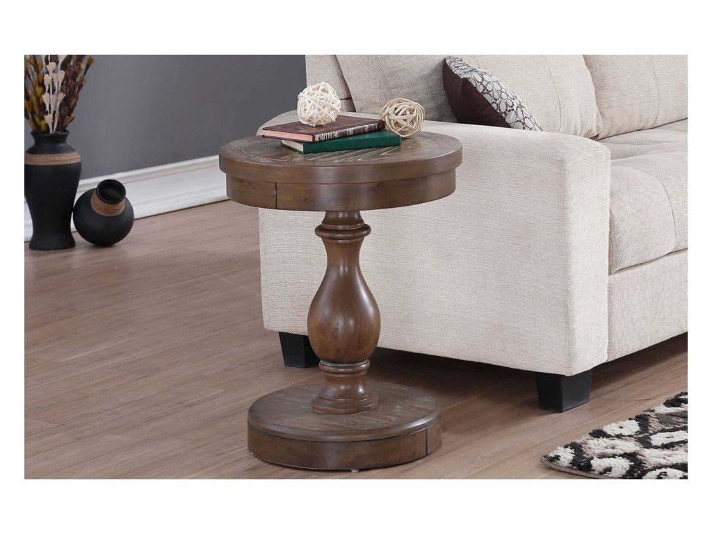 Winners Only XcaliburRound End Table