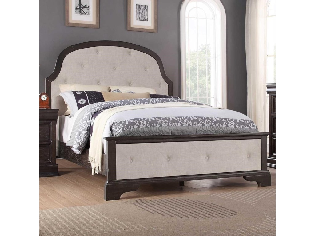 Winners Only XcaliburQueen Upholstered Bed