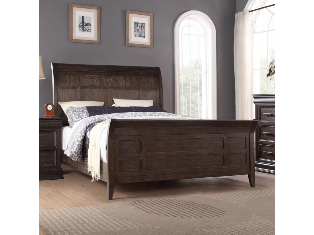 Winners Only XcaliburCalifornia King Sleigh Bed