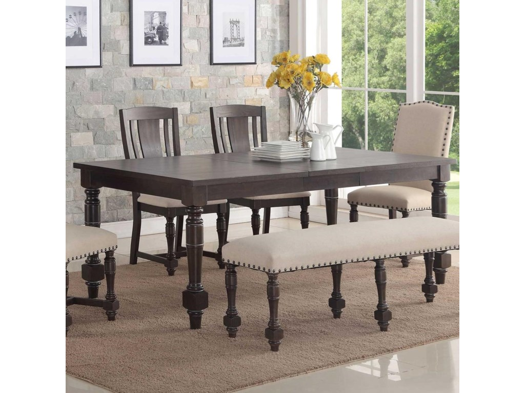 Winners Only XcaliburRectangular Dining Table