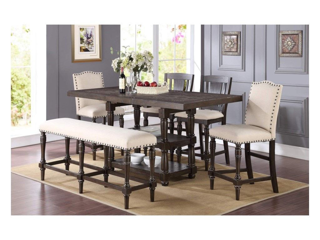 Winners Only XcaliburCounter Height Dining Set