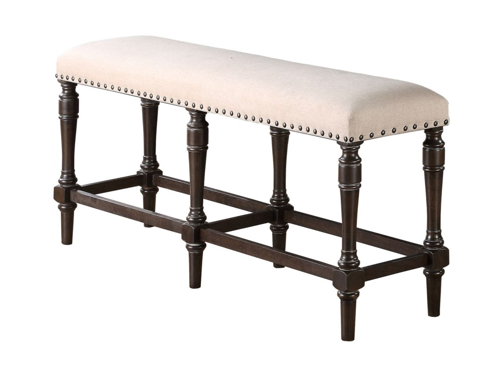 Winners Only XcaliburUpholstered Tall Bench