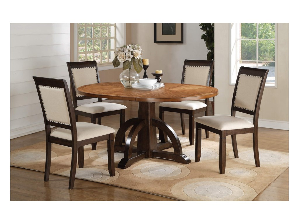 Winners Only YukonPedestal Table