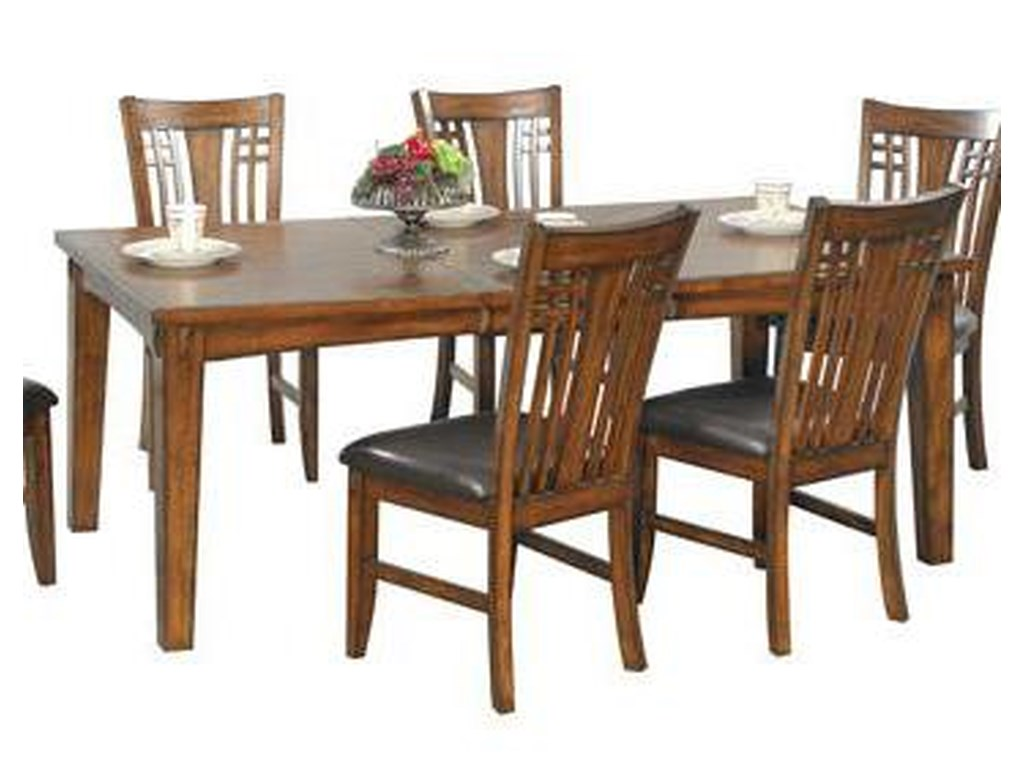 Winners Only Zahara7 Piece Dining Table and Chair Set