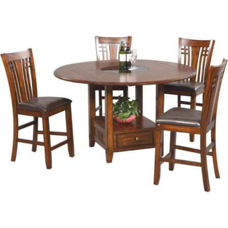 5 Piece Counter Table and Barstools