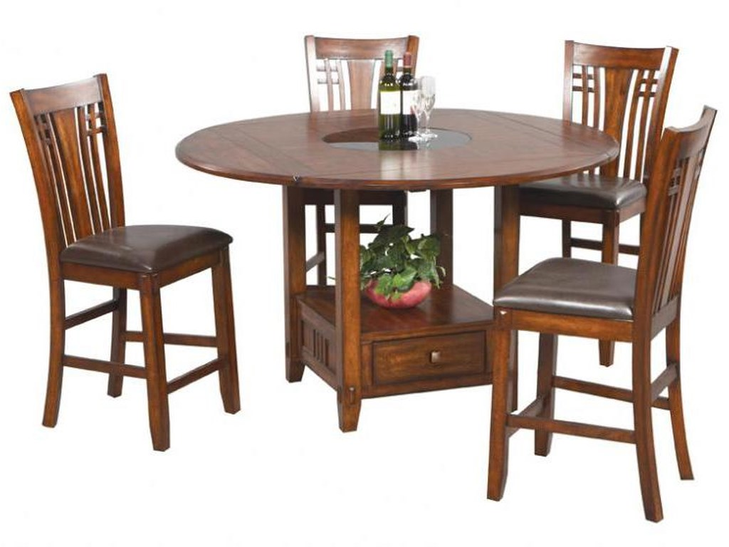 Winners Only Zahara5 Piece Counter Table and Barstools