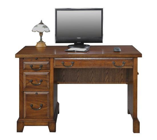Winners Only Zahara Single Pedestal Desk With 4 Drawers