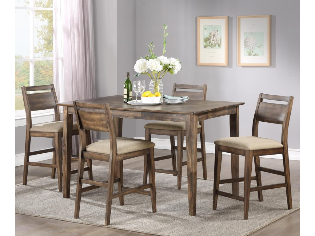 Winners Only Zoey5-Piece Counter Table Set