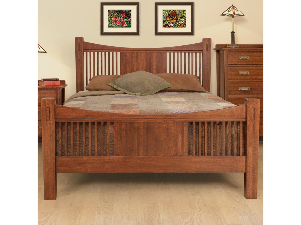 Witmer Furniture HeartlandQueen Headboard & Footboard Bed