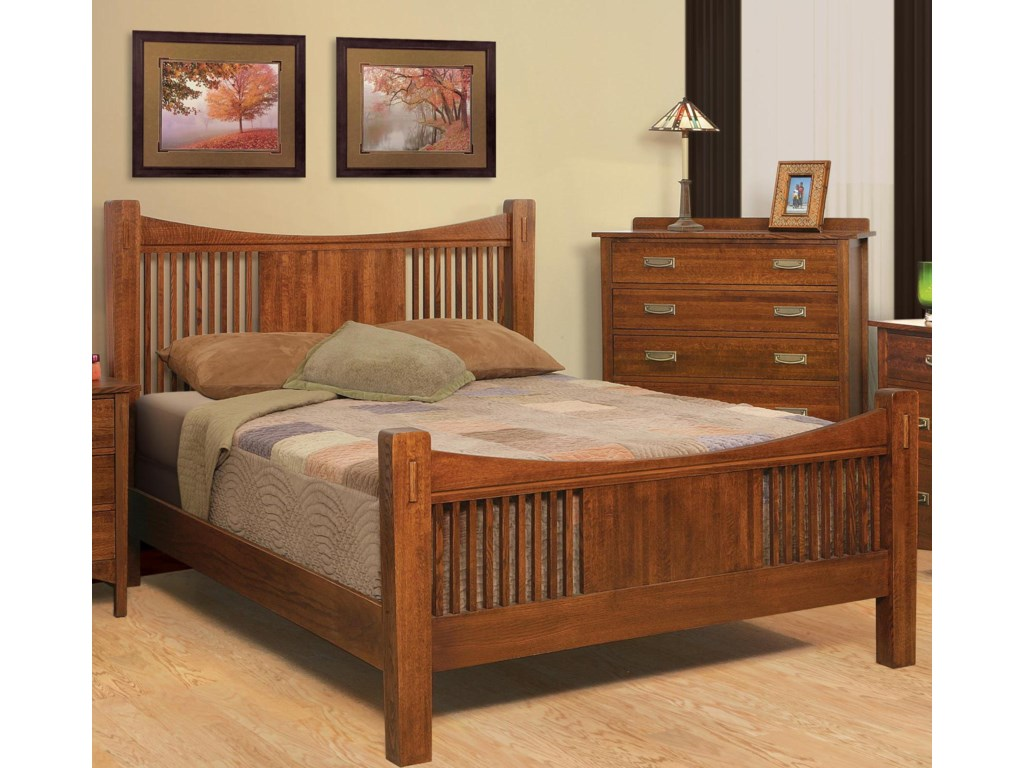Witmer Furniture HeartlandQueen Headboard & Footboard Bed