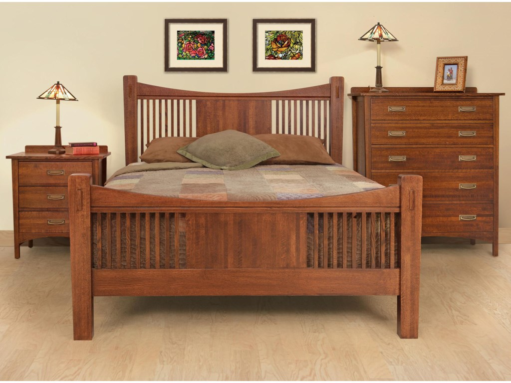 Shown with Night Stand and Bed