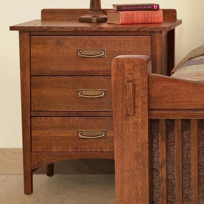 Witmer Furniture Heartland Night Stand With 3 Drawers
