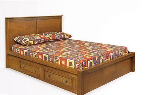 Taylor J Queen Platform Storage Bed By Witmer Furniture