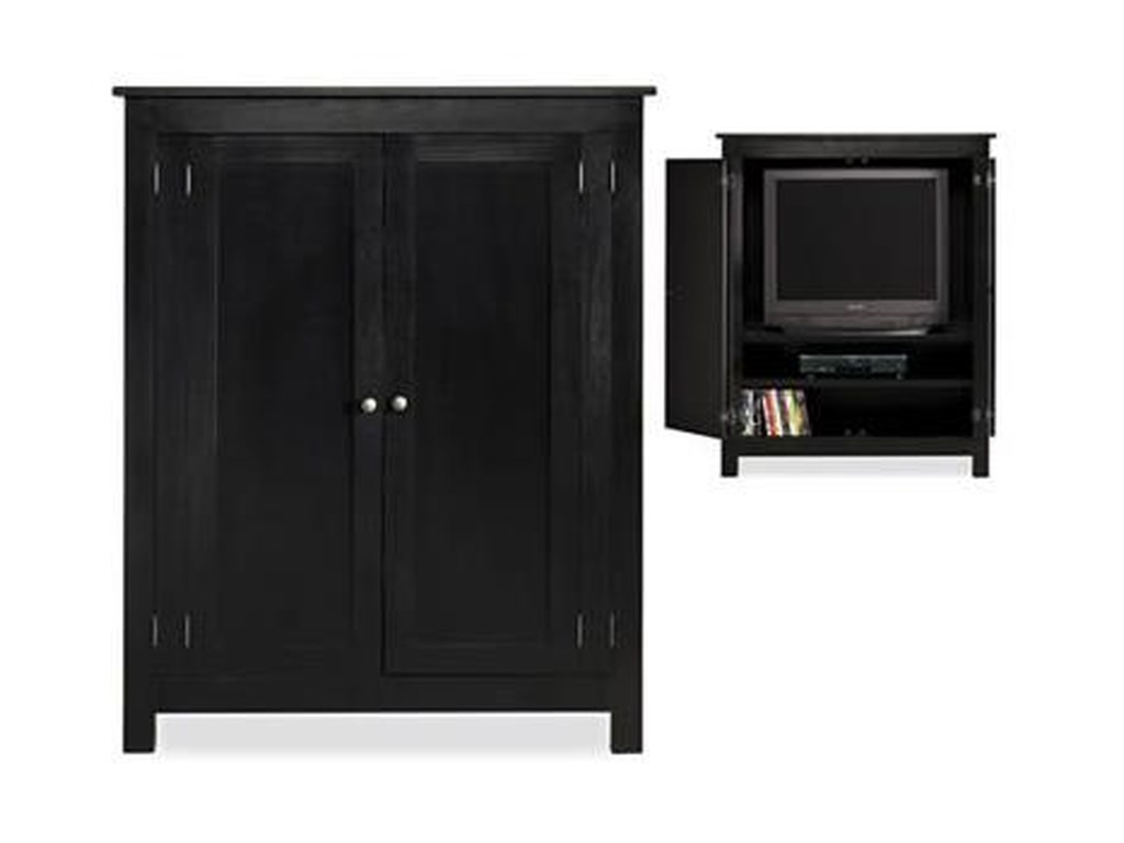 Witmer Furniture Taylor J Video Armoire Mueller Furniture Armoires
