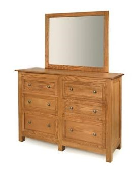 Shown with Mirror for Dresser