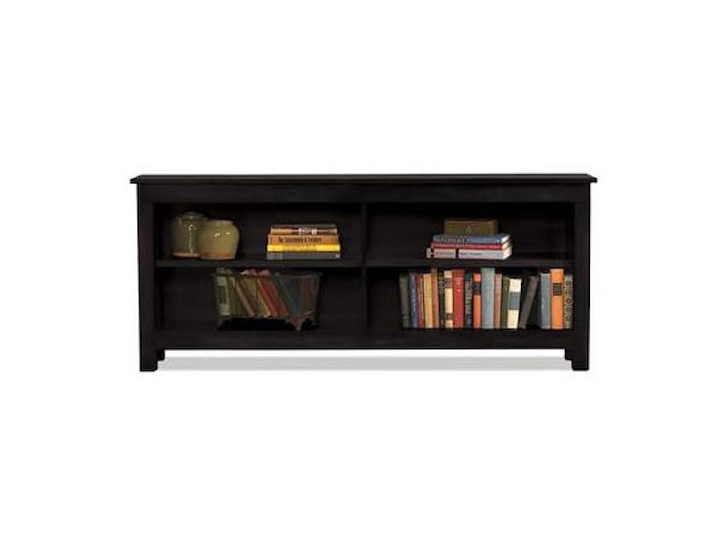 Witmer Furniture Taylor J2-Shelf Console Bookcase