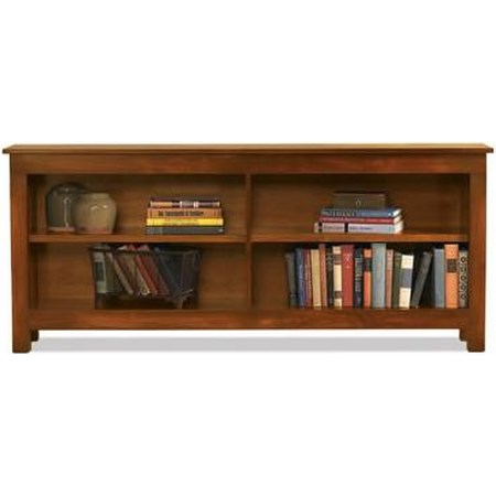 2-Shelf Console Bookcase