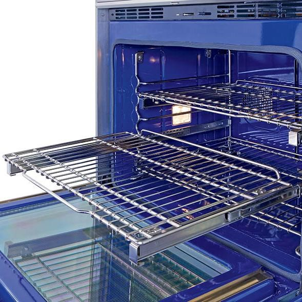 Three Adjustable Racks Are Featured in Each Oven