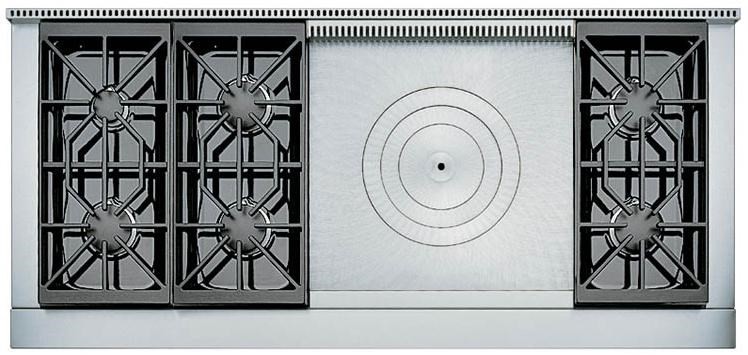 6 Burners with French Top