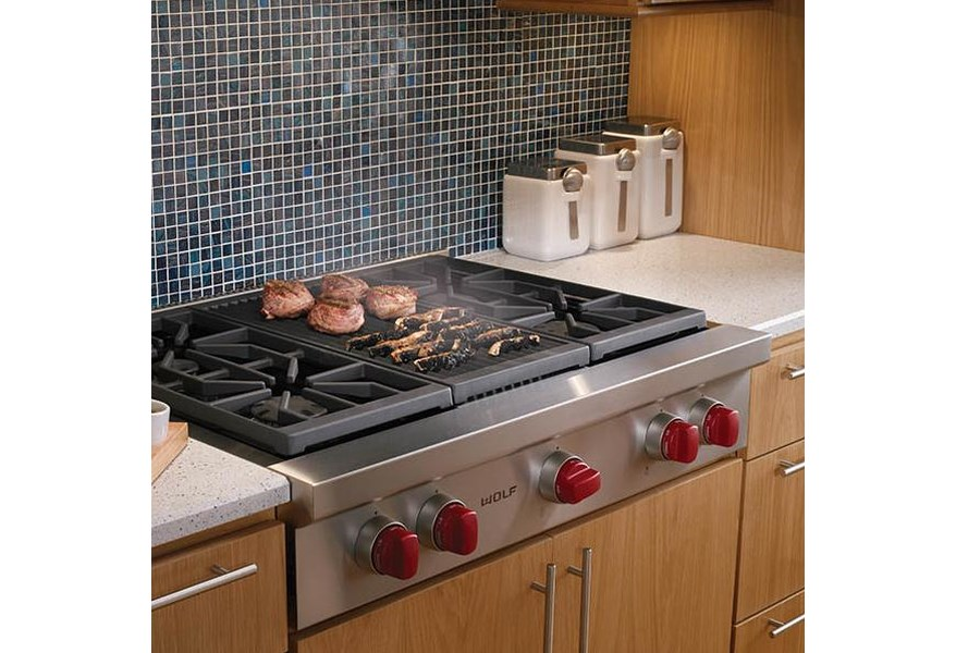 Gas Rangetop With 4 Sealed Burners