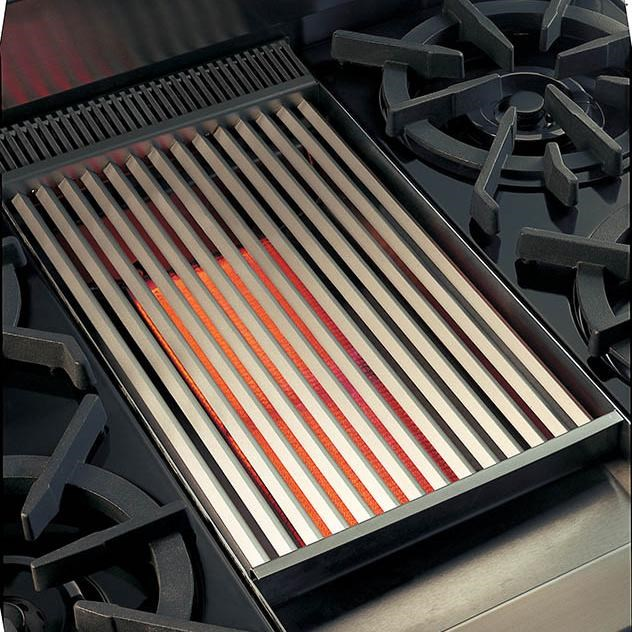 Charbroiler Allows Outdoor-Style Cooking to be Done Inside