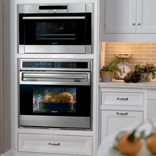 Shown in Combination with an Additional Oven