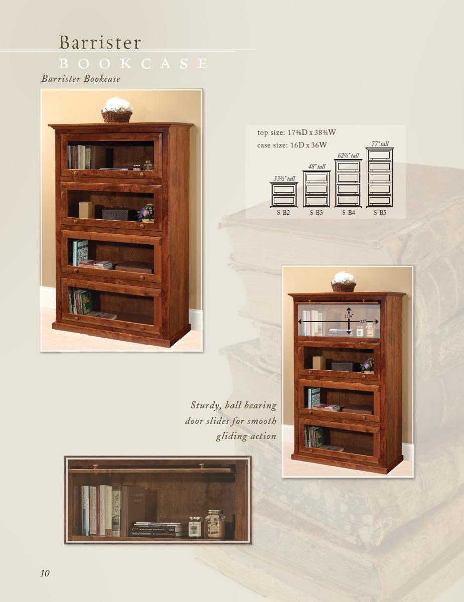 Wonder Wood Wonder Wood Bookcases Customizable Barrister