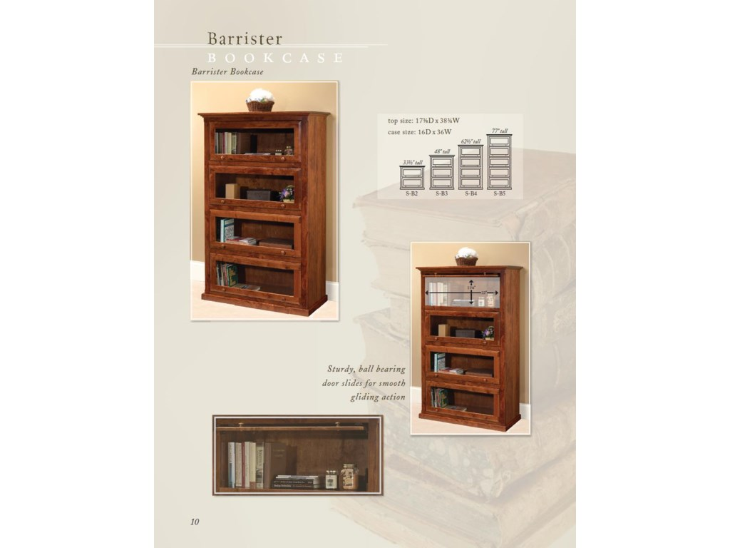 Wonder Wood Wonder Wood BookcasesCustomizable Barrister Bookcase