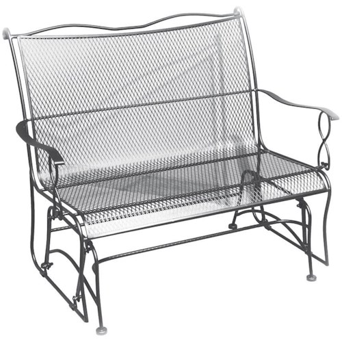 Woodard Outdoor Furniture Rialto Glider Boulevard Home Furnishings