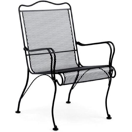 High-Back Lounge Chair