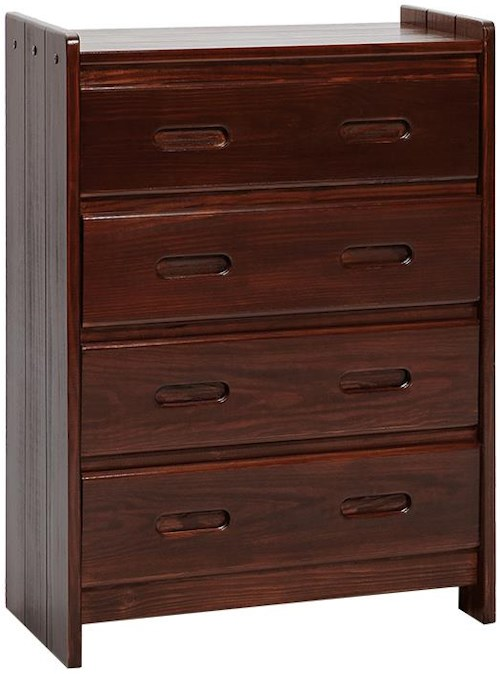 Woodcrest Heartland Traditional 4 Drawer Chest