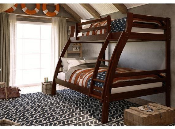 Woodcrest Tf810 Tf810 Twin Full Bunk Bed Furniture Fair North