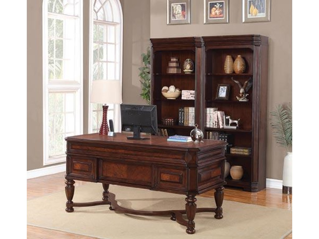 Flexsteel Wynwood Collection WestchesterWriting Desk
