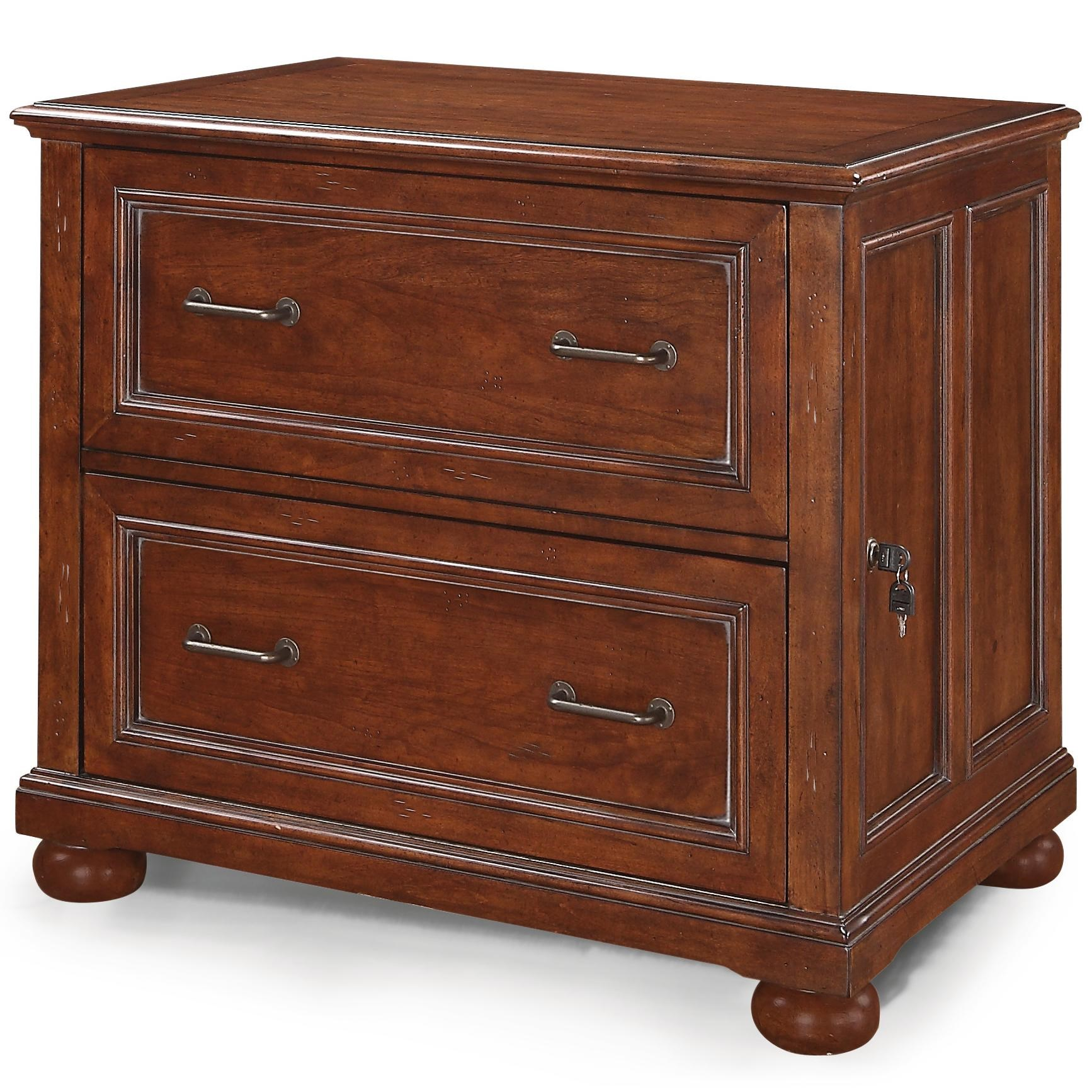 Flexsteel Wynwood Collection American HeritageLateral File Cabinet ...