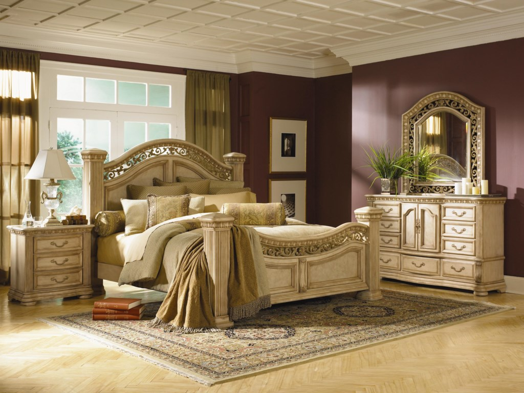 Shown with Coordinating Mansion Bed and Nightstand