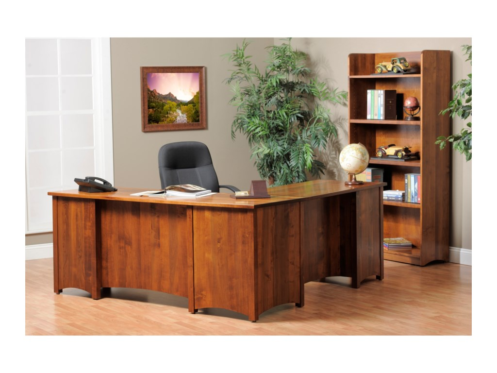 Y & T Woodcraft Rivertown Home OfficeOffice Group