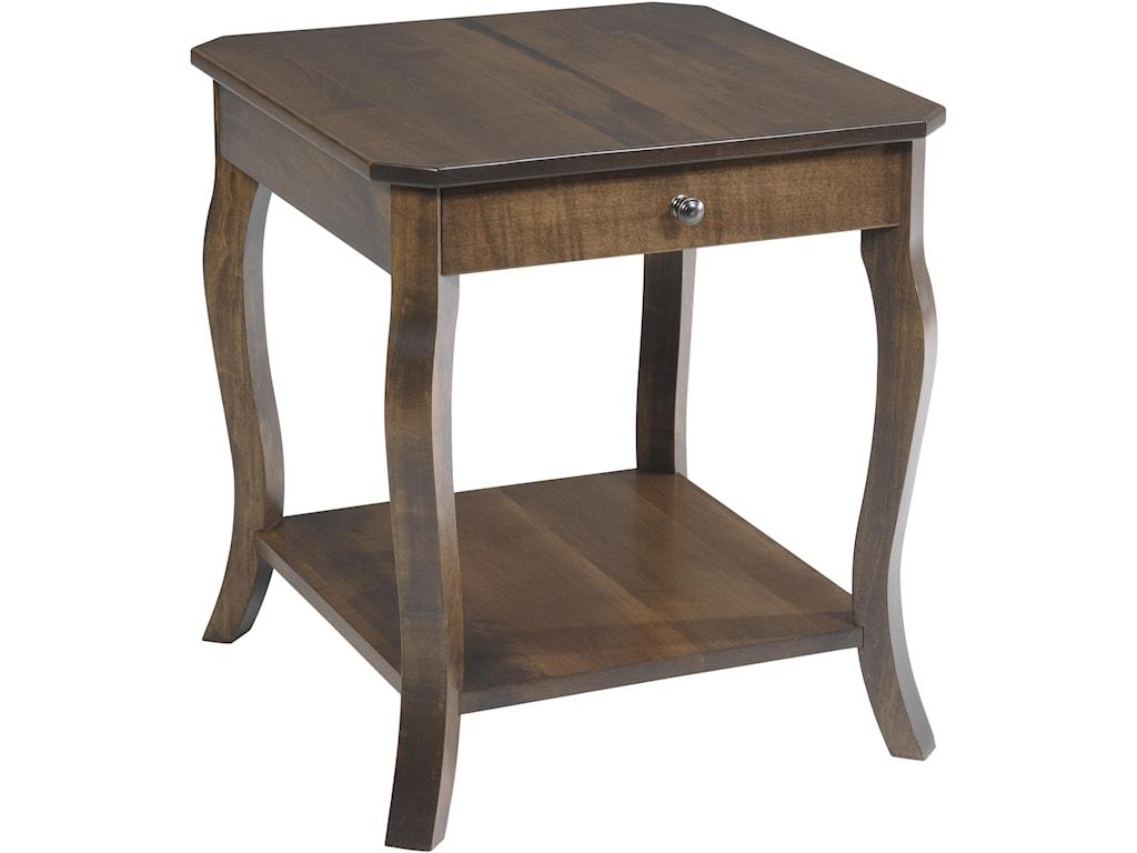 Y & T Woodcraft SundanceEnd Table